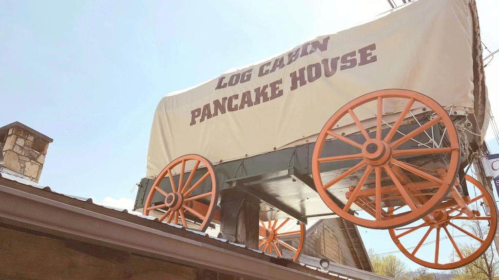 Gatlinburg's Log Cabin Pancake House  Gatlinburg,  Tennessee Photo Courtesy of Patrick T Cooper