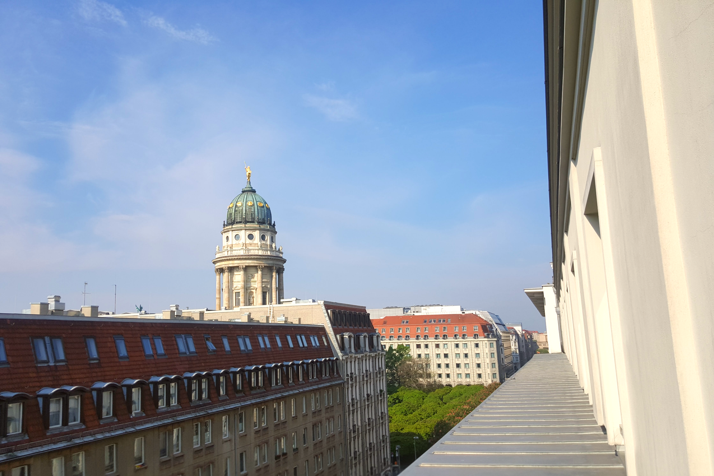 Morning Views at Hotel de Rome a Rocco Forte Hotel Berlin, Germany Photo Courtesy Patrick T Cooper