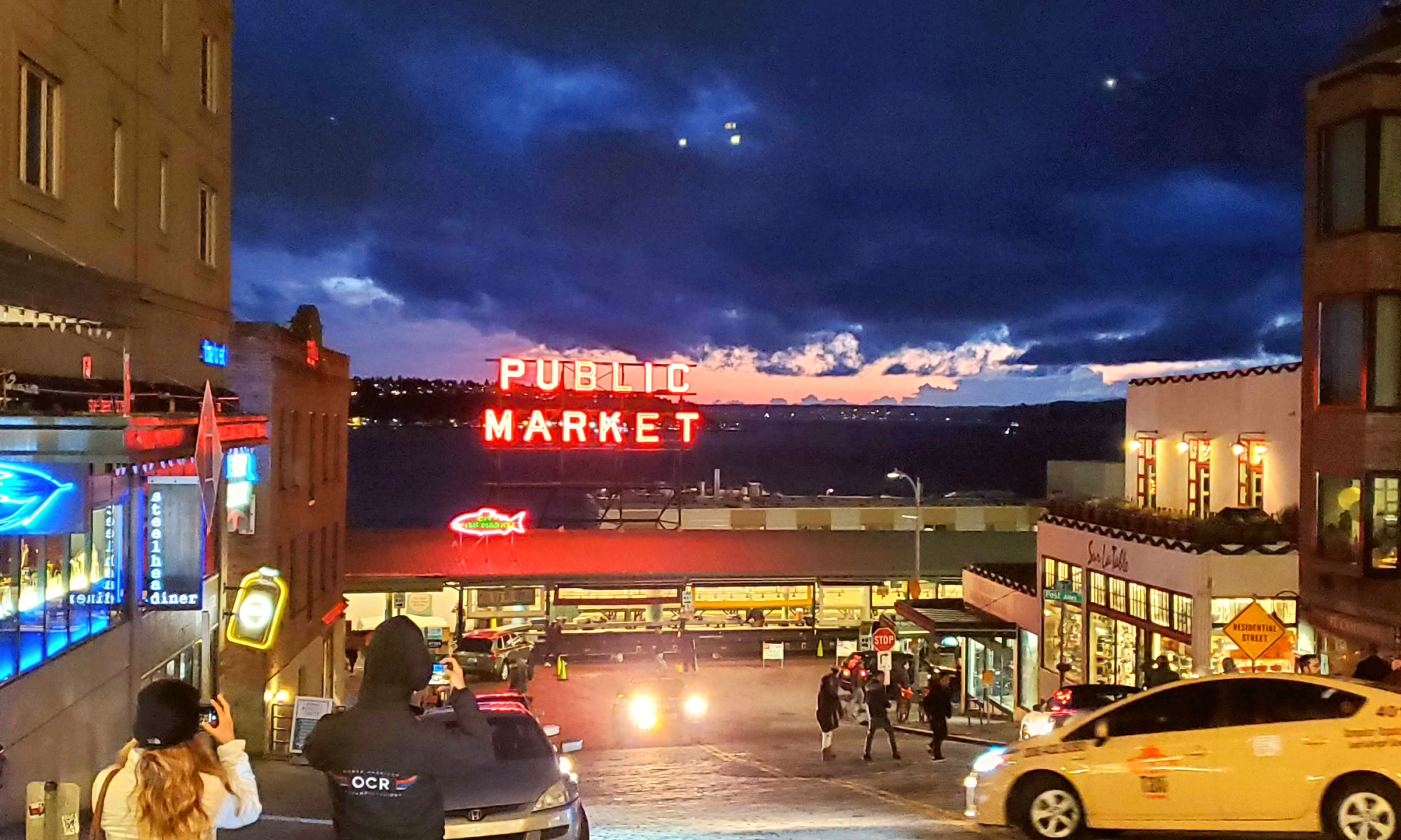 Seattle's Public Market The Perfect Travel Stamp Photo Courtesy Patrick T Cooper