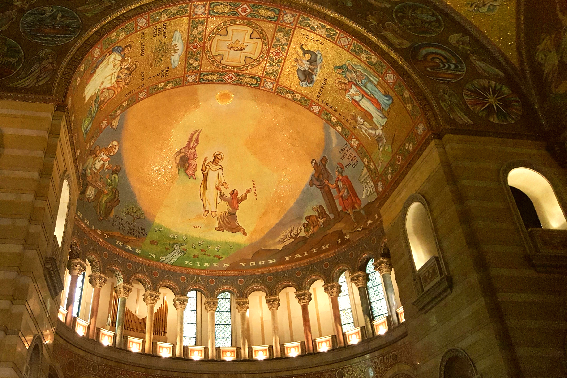 The Cathedral Basilica of St. Louis is visually opulent Photo Courtesy Patrick T Cooper