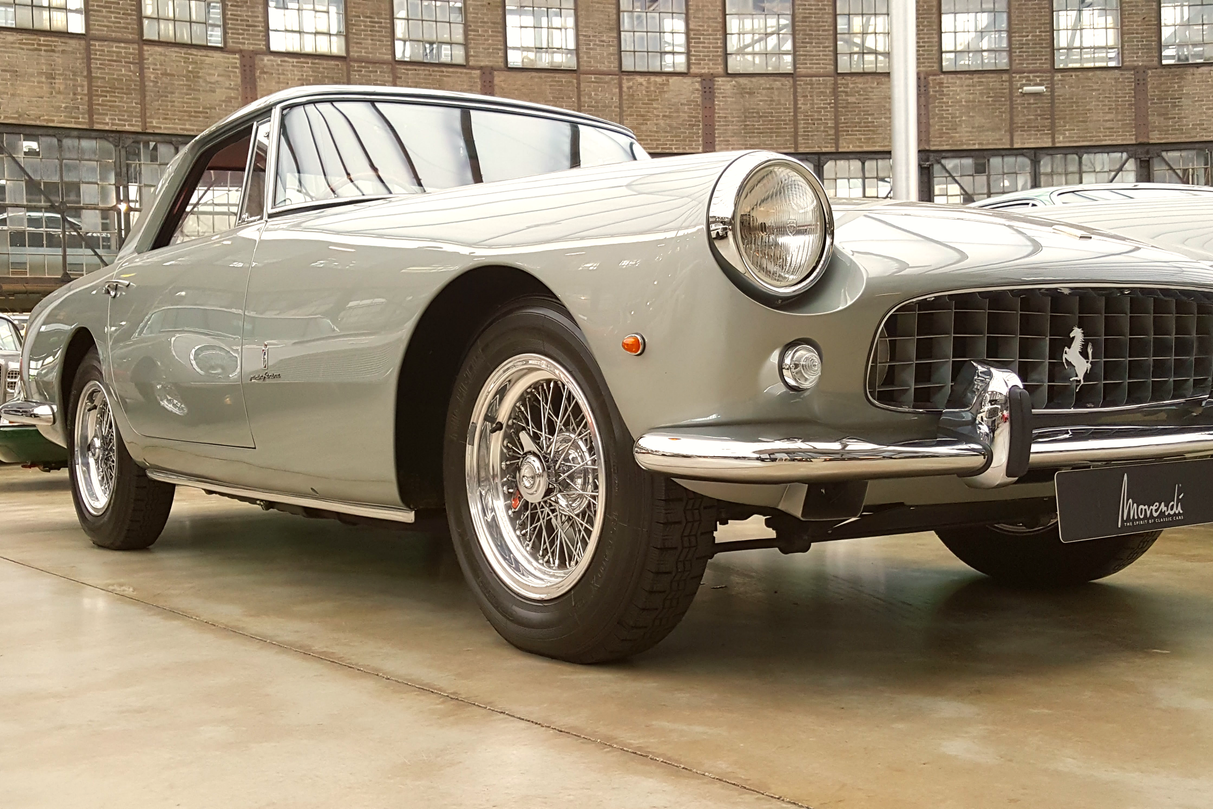 Vintage Ferrari at Classic Remise Düsseldorf, Germany Photo Courtesy of Patrick T Cooper