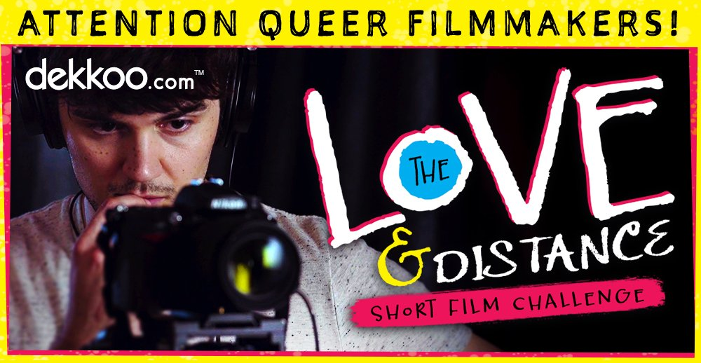 Are you a queer creative? Ever wonder, how to get a $10,00 stimulus for gay filmmakers.
