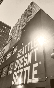 Hotel Max's Seattle Doesn't Settle Mural is the perfect selfie location Photo Courtesy Patrick T Cooper