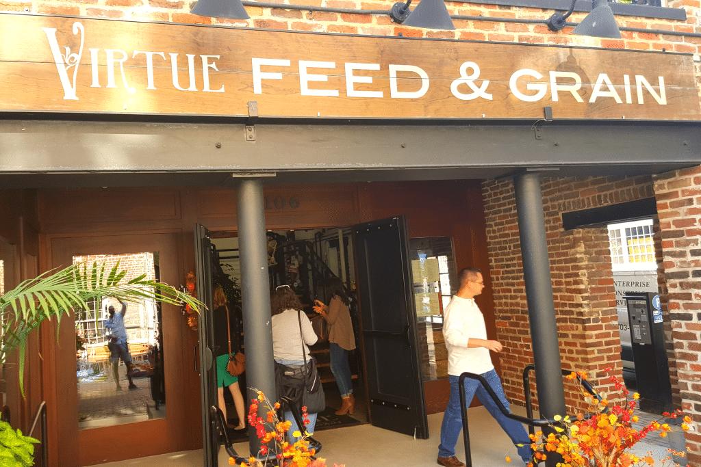 Virtue Feed & Grain Alexandria, Virginia Photo Courtesy Patrick T. Cooper
