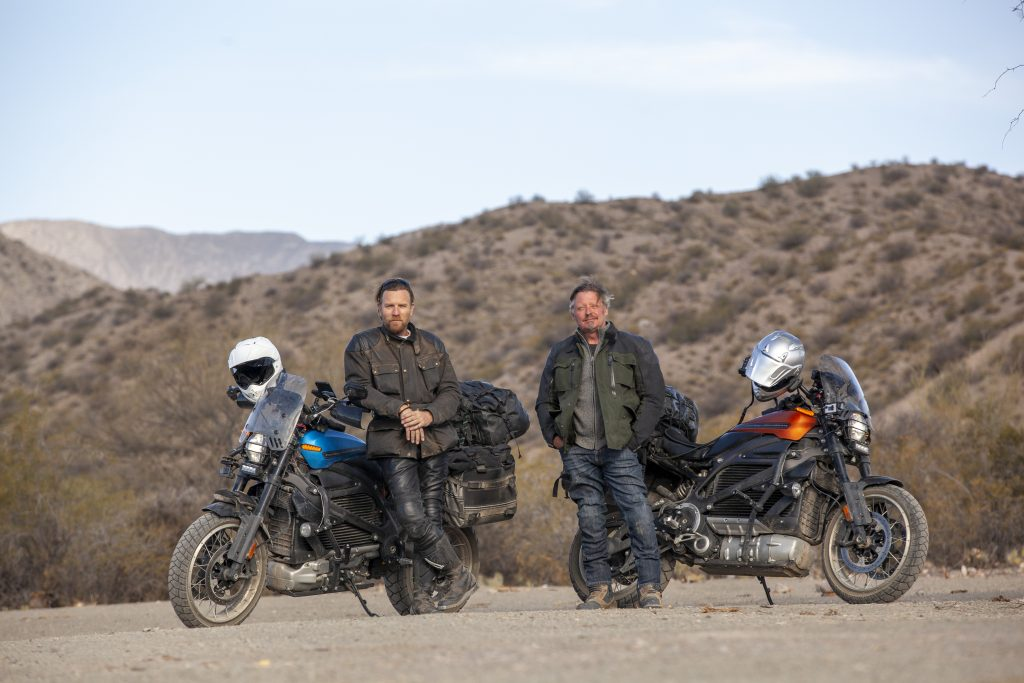 "How Ewan McGregor and Charley Boorman curate an unforgettabale motorcycle  diary on Apple TV+.   Today, Apple TV+  unveiled a first look at ""Long Way Up,"""